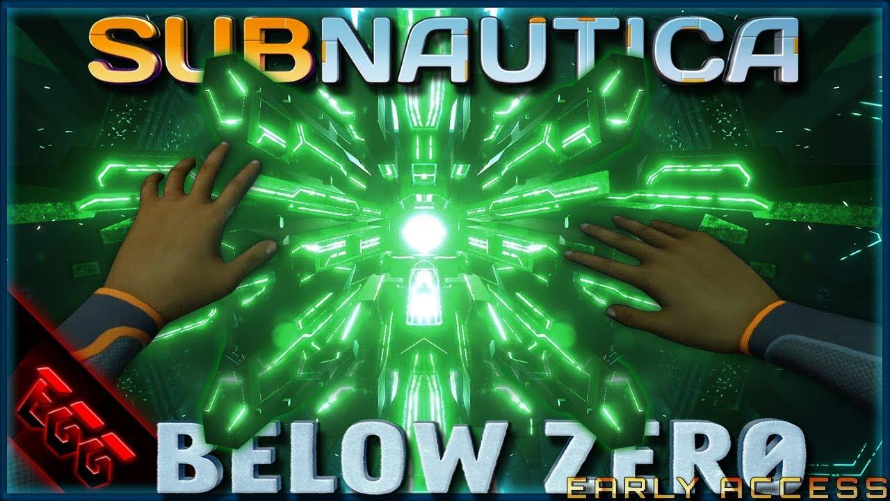 Alien Cube Subnautica Below Zero Ep3 Youtube