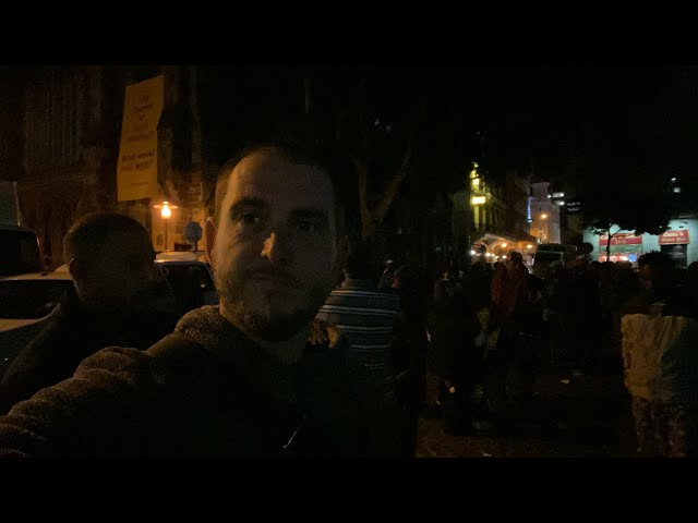 Livestream Halloween night outreach in Cape Town