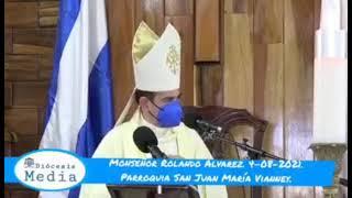 """Obispo Álvarez: el demonio sabe, si calla al pastor, calla al pueblo"""" ante ataques de Ortega"""