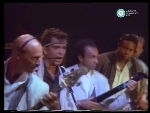 POV (Point Of View) Peter Gabriel en Atenas, 1989