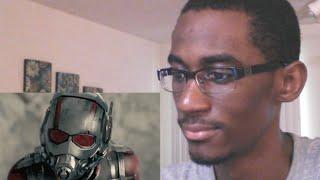 MARVEL'S ANT-MAN OFFICIAL TRAILER 3 REACTION!!!!!