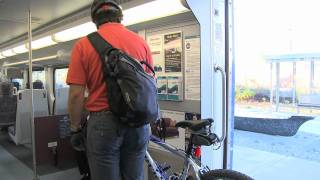 How to ride with your bicycle on Sounder trains