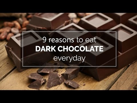 9 reasons to eat dark chocolate everyday