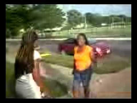 Black girl street fights