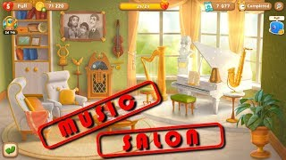 GARDENSCAPES NEW ACRES - MUSIC SALON - NEW ROOM