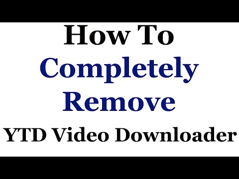 How To Completely Remove The YTD Video Downloader Mp3