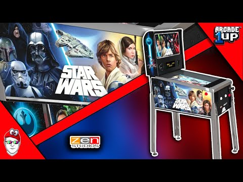 Arcade1Up Star Wars Pinball is Here - Pre-Order NOW! from Console Kits
