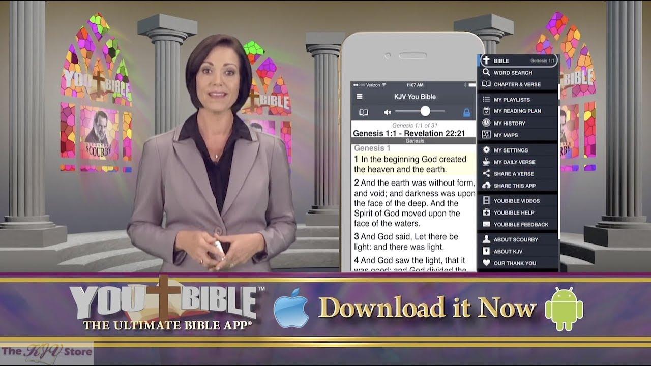 YouBible - Alexander Scourby KJV Audio Bible App