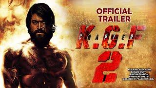 K.G.F Chapter 2 Official Trailer | Yash | Srinidhi Shetty |Sanjay Dutt |Prashanth N | Raveena Tandon