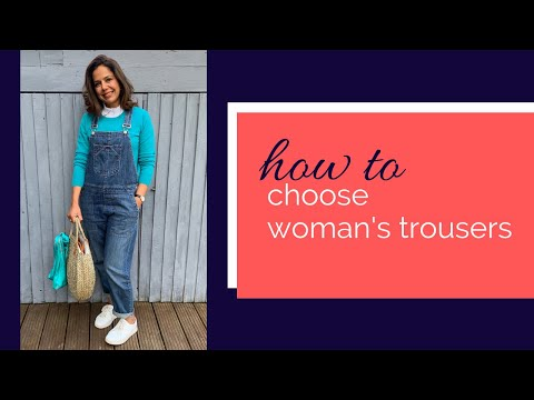 Choosing women's trousers: advice on what to wear on your legs from shorts to dungarees! 3