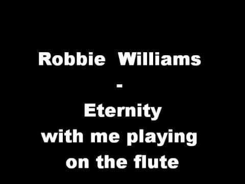 robbie williams eternity karaoke instrumental with flute