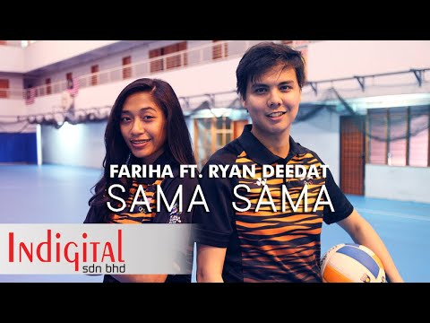 Fariha Ft. Ryan Deedat - Sama Sama (Official Lyric Video)