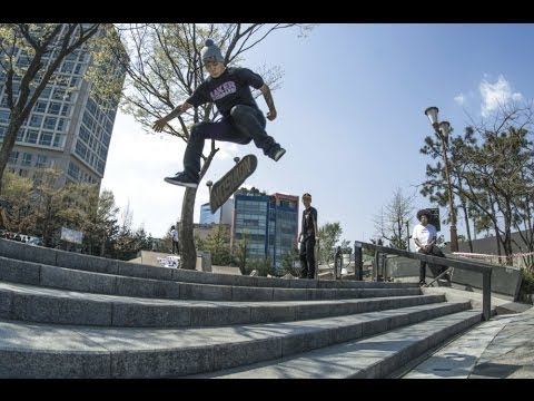 Skating and exploring in Korea - Red Bull The Joy Tour 2013
