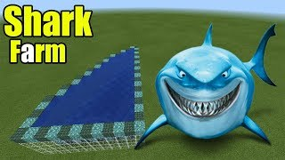 How to Make a Shark Farm | Minecraft PE thumbnail