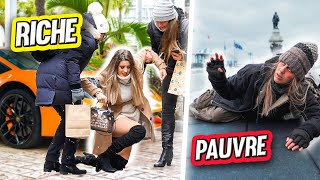 Rich VS Poor in the street Prank | DENYZEE