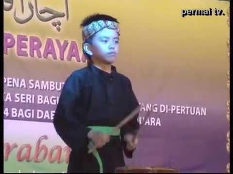 Rampak Kendang dan Pencak Silat Brunei, di Pentas Perayaan 2014