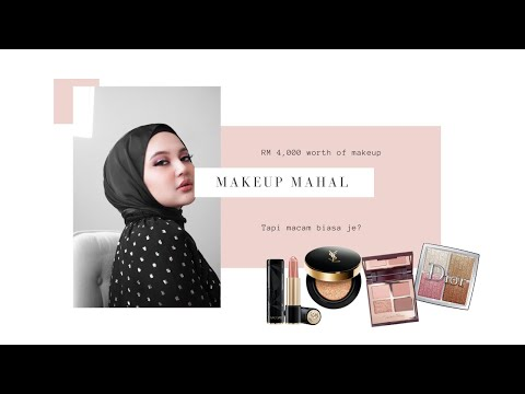 I HAVE RM 4,000 WORTH OF MAKEUP ON MY FACE