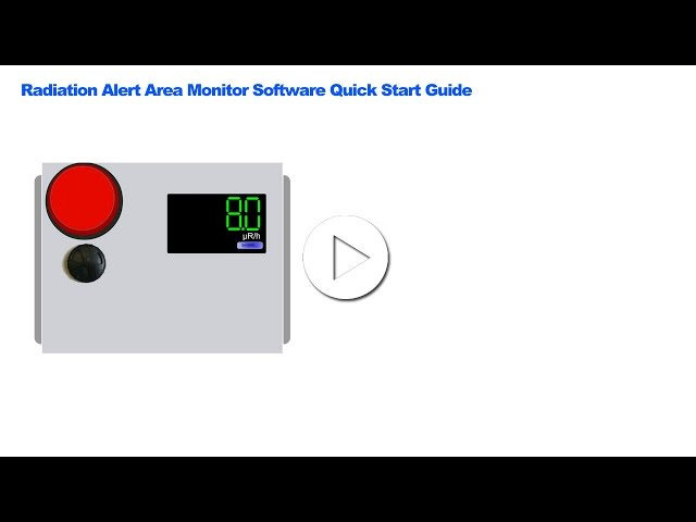 Radiation Alert® Area Monitor Software - S.E. International, Inc. Radiation Detectors