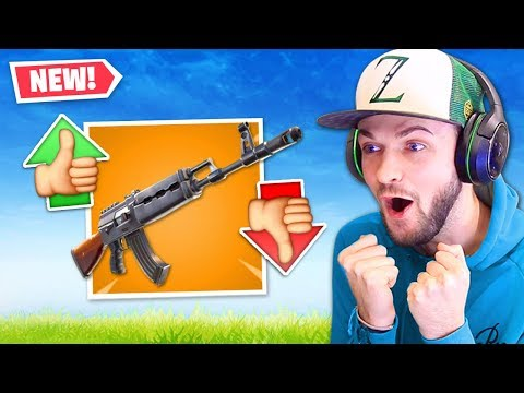 the NEW BEST gun in Fortnite...?