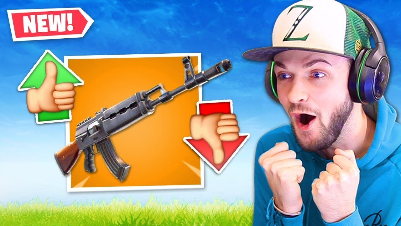 The New Best Gun In Fortnite Youtube