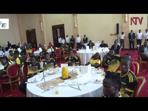 President Museveni hosts state banquet for the Uganda Cranes