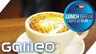 Coole Muster Im Cappuccino-schaum: Barista-tricks | Galileo Lunch Break