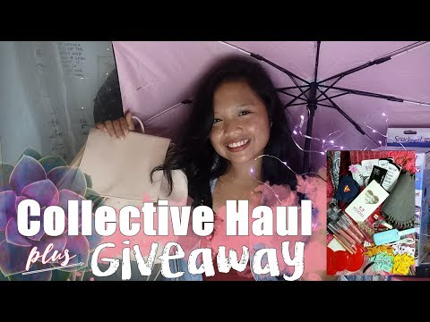COLLECTIVE HAUL (SM, DAISO, WATSONS, TRUE VALUE ETC.) + 500 SUBSCRIBERS GIVEAWAY! (CLOSED) | EJCB ♡