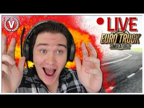 """SAMEN OP AVONTUUR!"" - EURO TRUCK SIMULATOR 2! - LIVESTREAM!"