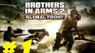 Brother In Arms 2 Global Front iPhone Gameplay Walkthrough Mission 1 HD