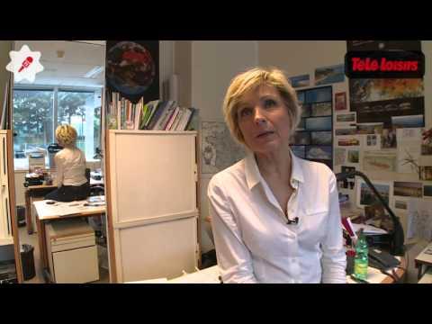 Reportage : dans les coulisses de la météo de TF1 avec Evelyne Dhéliat