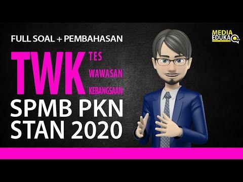 FULL SOAL + PEMBAHASAN TWK SPMB PKN STAN 2019 - PREDIKSI + PEMBAHASAN SKD SPMB PKN STAN 2019
