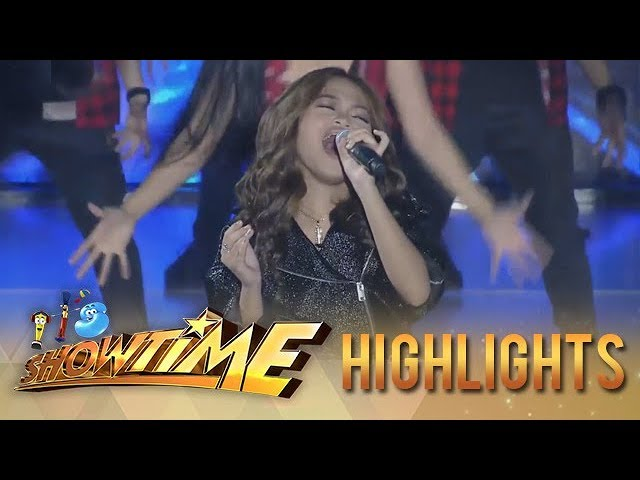 It's Showtime: Janine Berdin performs her winning piece on It's Showtime stage