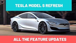 Tesla Model S refresh or Model…