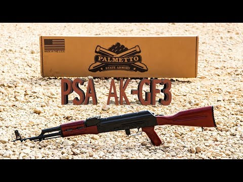 PSAK-47 GF3 Forged Classic Red Wood Rifle (No Cleaning Rod) - 5165450298
