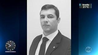 Delegado é encontrado morto em porta-malas de carro no Rio | SBT Brasil (12/01/18)
