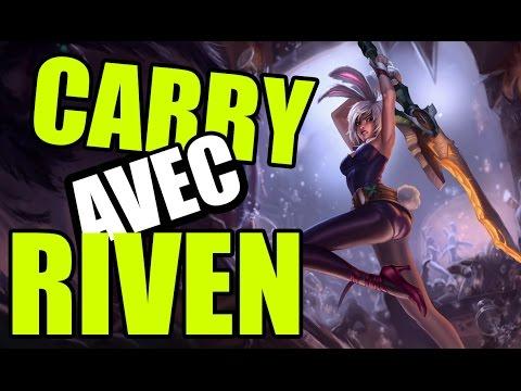 CARRY AVEC RIVEN TOP 6.22  - Guide League of Legends