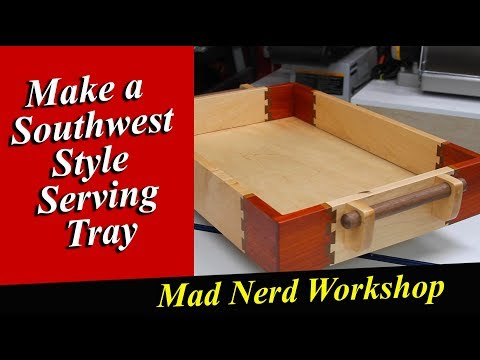 Four Different Wood Serving Tray  *Mad Nerd Workshop*