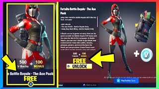 (EASY) Fortnite: How To Get **FREE** Starter Pack #3 (Fortnite Battle Royale free Skins) Ace Skin