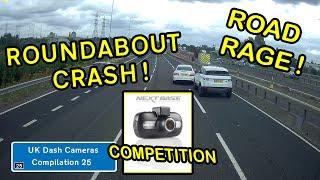 UK Dash Cameras - Compilation 25 - Bad Drivers, Crashes + Close Calls