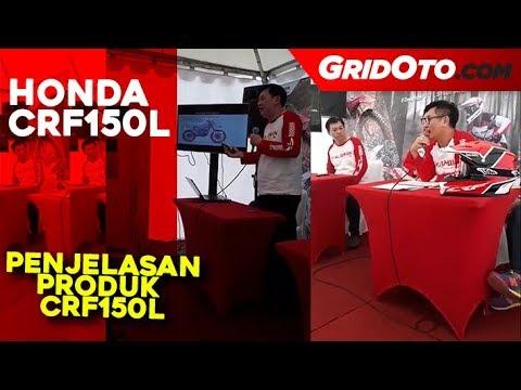 Penjelasan Produk Honda CRF150L