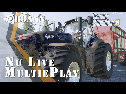 Farming Simulator 19 : #multieplay (G27)