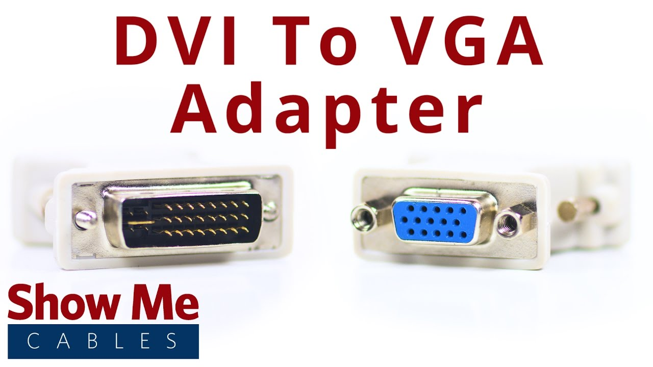 small resolution of dvi i dual link male to hd15 vga female adapter 2907