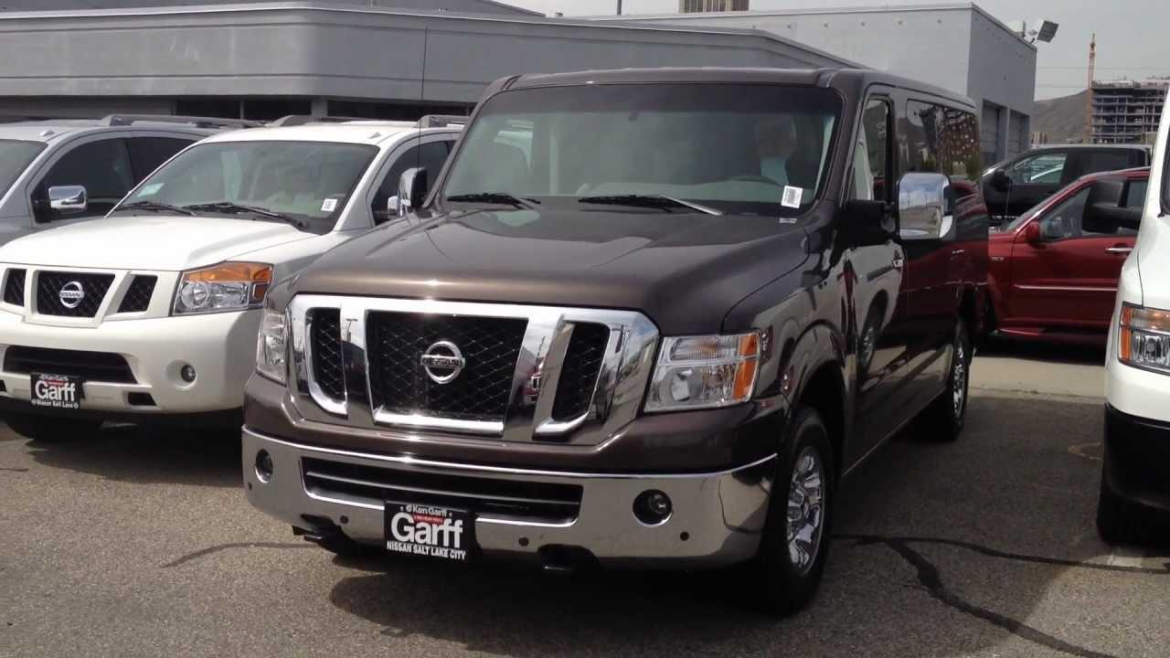 Nissan Nv Passenger >> Nissan Passenger Van - YouTube