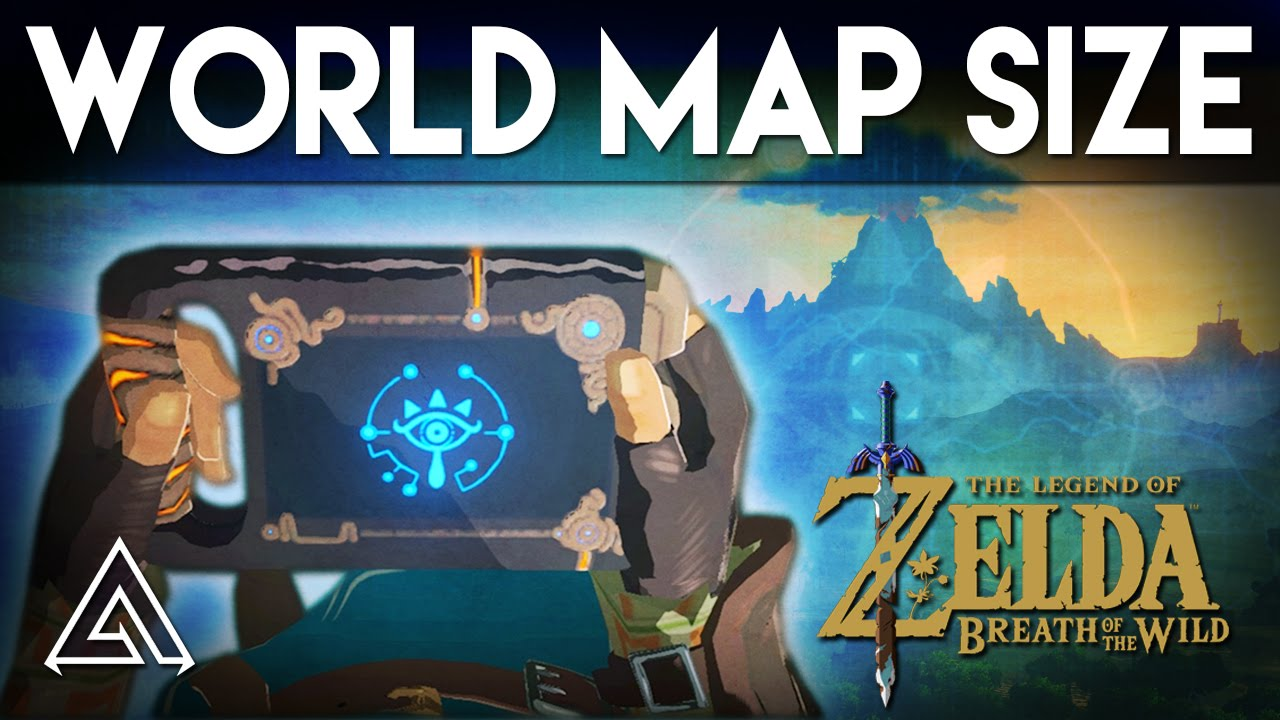 The legend of zelda breath of the wild map size in depth the legend of zelda breath of the wild map size in depth biggest zelda game yet youtube gumiabroncs