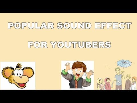 Popular sound effects youtubers use sound effects for comedy laughing sad  music sound effect