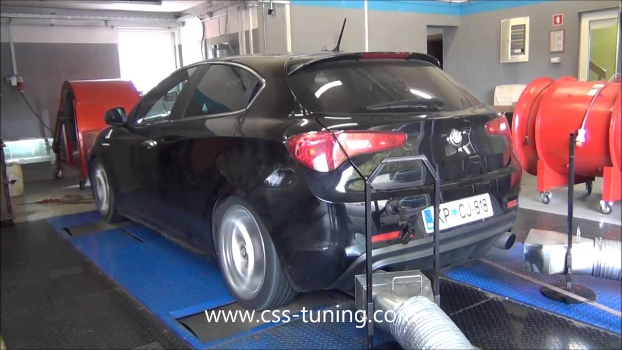 Alfa Romeo Giulietta 1750 TBI 235 HP Stage 2 Chip Tuning  YouTube