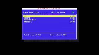 Q-FLASH BIOS update on Gigabyte P55M UD2