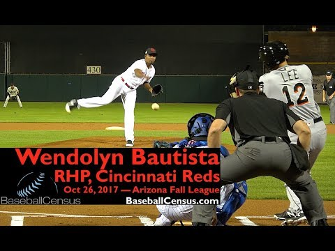 Wendolyn Bautista, RHP, Cincinnati Reds — October 26, 2017 (AFL)