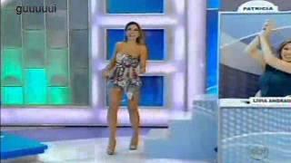 Patricia Abravanel dançando Você Quer da Mulher Melão