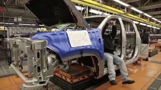 2020 Chevrolet Silverado Production HD | Car Factory Production Line